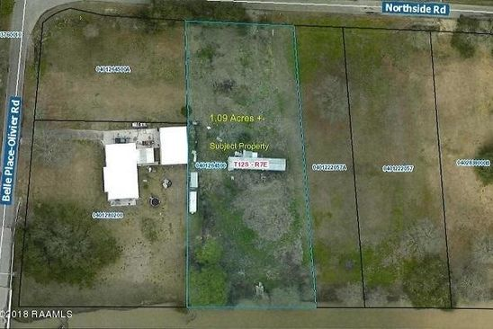 null bed null bath Vacant Land at 4204 Northside Rd New Iberia, LA, 70563 is for sale at 60k - google static map