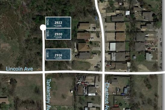 null bed null bath Vacant Land at 2922 Tankersley Ave Fort Worth, TX, 76106 is for sale at 15k - google static map