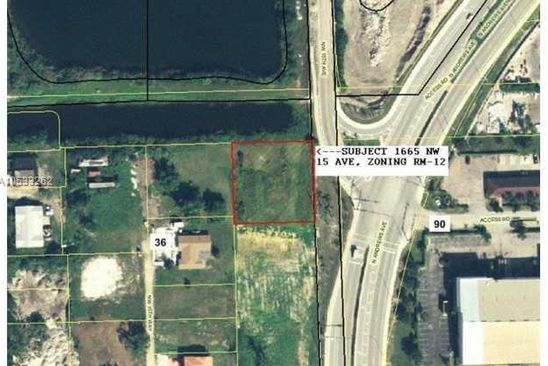 0 bed null bath Single Family at 1665 NW 15th Ave Pompano Beach, FL, 33069 is for sale at 88k - google static map