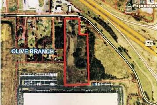 null bed null bath Vacant Land at 8711 W SANDIDGE RD OLIVE BRANCH, MS, 38654 is for sale at 1.25m - google static map