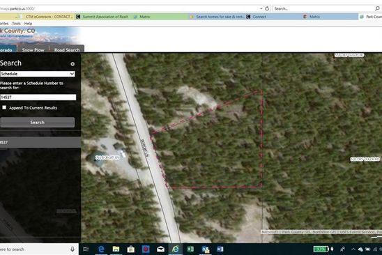 null bed null bath Vacant Land at 730 Bobcat Ln Fairplay, CO, 80440 is for sale at 28k - google static map