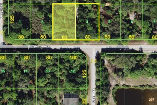 null bed null bath Vacant Land at 18142 Quincy Ave Port Charlotte, FL, 33948 is for sale at 16k - google static map