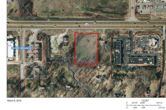 0 bed null bath Vacant Land at 6323 Goodman Rd Olive Branch, MS, 38654 is for sale at 350k - google static map