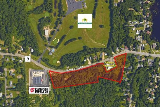 null bed null bath Vacant Land at 1355 Main St Leicester, MA, 01524 is for sale at 395k - google static map