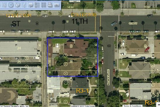 8 bed 5 bath Multi Family at 1101 MAGNOLIA AVE LOS ANGELES, CA, 90006 is for sale at 1.29m - google static map