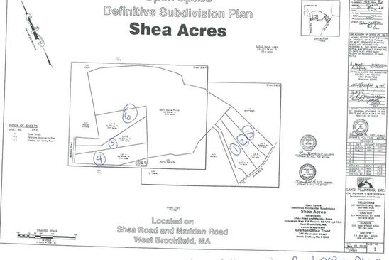 null bed null bath Vacant Land at 1 Shea Rd West Brookfield, MA, 01585 is for sale at 45k - google static map