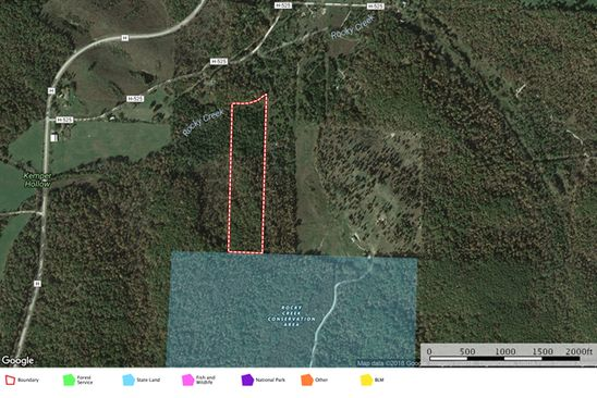null bed null bath Vacant Land at  Tbd Parcel N Meadow-Wood Winona, MO, 65466 is for sale at 39k - google static map
