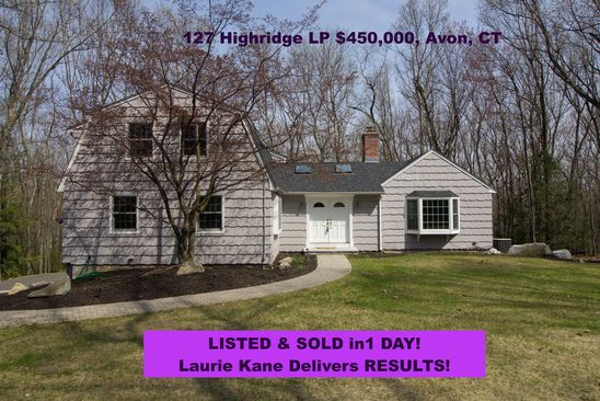 4 bed 3 bath Single Family at 127 Highridge Rd Avon, CT, 06001 is for sale at 450k - google static map