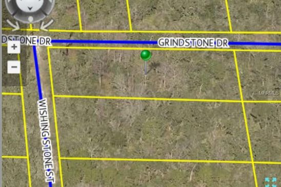 null bed null bath Vacant Land at  GRINDSTONE DR WEBSTER, FL, 33597 is for sale at 9k - google static map
