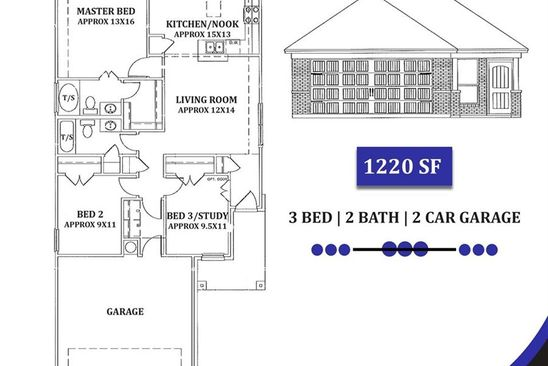 3 bed 2 bath Single Family at 535 W Heard St Cleburne, TX, 76033 is for sale at 156k - google static map