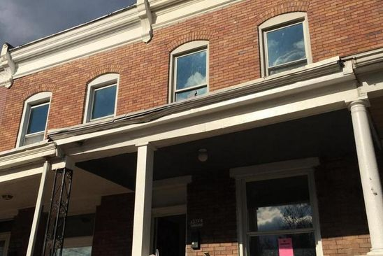 3 bed 1 bath Townhouse at 2766 KINSEY AVE BALTIMORE, MD, 21223 is for sale at 40k - google static map