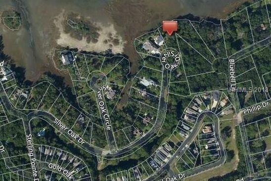 null bed null bath Vacant Land at 34 SILVER OAK DR HILTON HEAD ISLAND, SC, 29926 is for sale at 120k - google static map