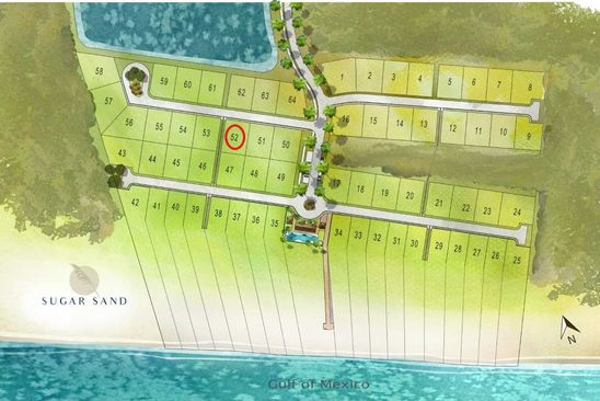 null bed null bath Vacant Land at 124 Sugar Sand W Mexico Beach, FL, 32410 is for sale at 155k - google static map
