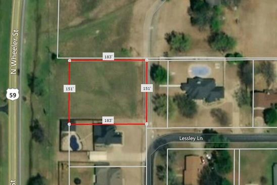 null bed null bath Vacant Land at 0 N Lessley Ln Sallisaw, OK, 74955 is for sale at 25k - google static map