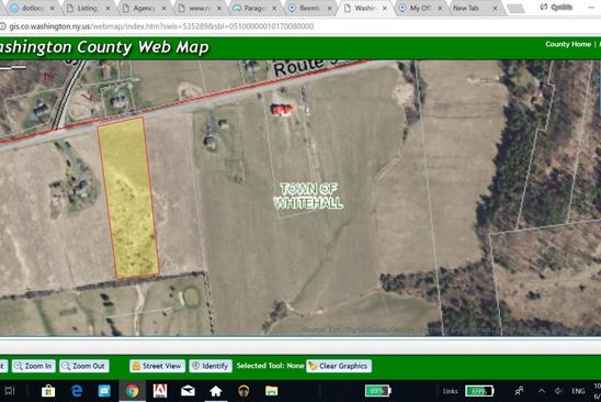 null bed null bath Vacant Land at 0 Co Rd Whitehall, NY, 12887 is for sale at 25k - google static map