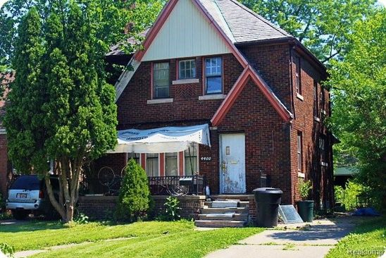 3 bed 2 bath Single Family at 4400 Nottingham Rd Detroit, MI, 48224 is for sale at 24k - google static map