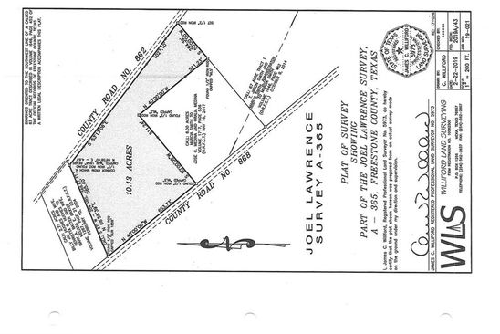 null bed null bath Vacant Land at  Tbd Fcr Teague, TX, 75860 is for sale at 50k - google static map