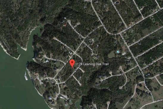 0 bed null bath Vacant Land at 1179 Leaning Oak Trl Whitney, TX, 76692 is for sale at 5k - google static map