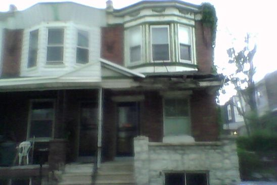 3 bed 1 bath Single Family at 154 N REDFIELD ST PHILADELPHIA, PA, 19139 is for sale at 25k - google static map