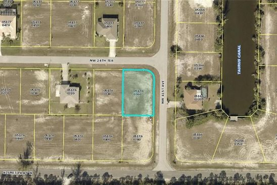 null bed null bath Vacant Land at 4100 NW 24TH TER CAPE CORAL, FL, 33993 is for sale at 19k - google static map