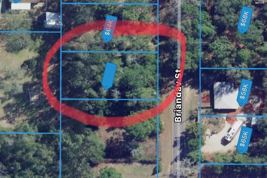 null bed null bath Vacant Land at  Briandav St Tallahassee, FL, 32305 is for sale at 15k - google static map