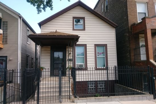 4 bed 2 bath Single Family at 2416 W 25TH ST CHICAGO, IL, 60608 is for sale at 160k - google static map