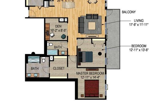 2 bed 3 bath Condo at 1240 S 2nd St Minneapolis, MN, 55415 is for sale at 740k - google static map