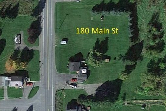 null bed null bath Vacant Land at 180 Main St Limestone, ME, 04750 is for sale at 8k - google static map
