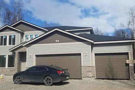 4 bed 2.5 bath Single Family at 8750 E Wolf Creek Rd Wasilla, AK, 99654 is for sale at 378k - google static map