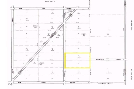 null bed null bath Vacant Land at 2201 4th St Atco, NJ, 08004 is for sale at 50k - google static map