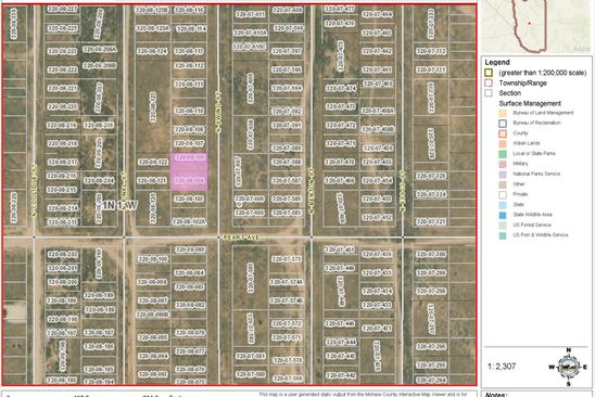 null bed null bath Vacant Land at  Lots 5 6 7 8 Swing St Kingman, AZ, 86401 is for sale at 3k - google static map