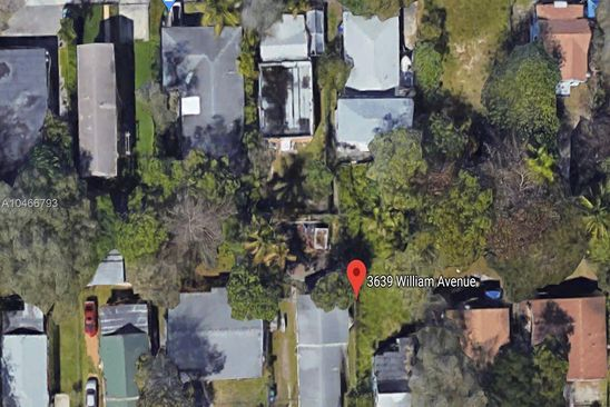 2 bed null bath Vacant Land at 3639 WILLIAM AVE MIAMI, FL, 33133 is for sale at 250k - google static map