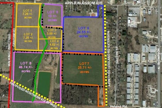 null bed null bath Vacant Land at 10AC W Apple Blossom Ave Springdale, AR, 72765 is for sale at 3.48m - google static map
