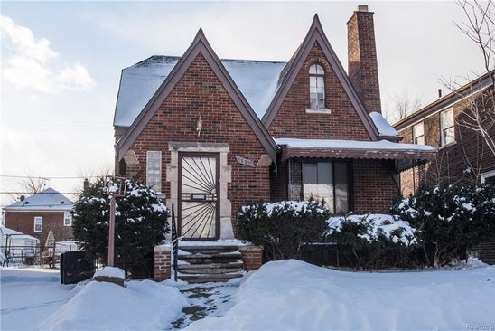 3 bed 2 bath Single Family at 16811 Ilene St Detroit, MI, 48221 is for sale at 60k - google static map