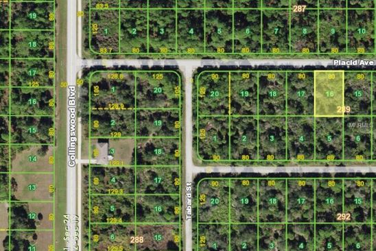 null bed null bath Vacant Land at 18071 Placid Ave Port Charlotte, FL, 33948 is for sale at 8k - google static map
