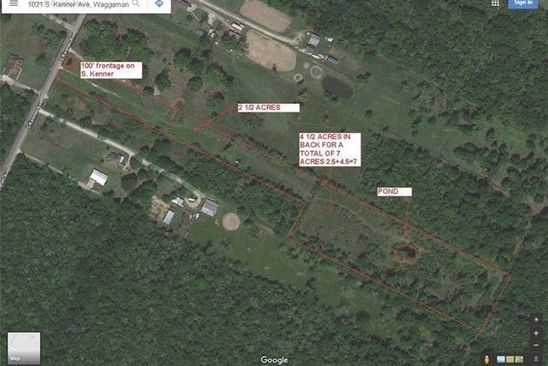 0 bed null bath Vacant Land at 1021 S Kenner Ave Westwego, LA, 70094 is for sale at 119k - google static map