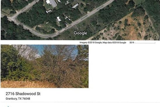 null bed null bath Vacant Land at 2716 S Shadowood St Granbury, TX, 76048 is for sale at 2k - google static map
