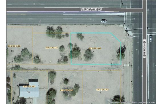 null bed null bath Vacant Land at 402 S Meridian Rd Apache Junction, AZ, 85120 is for sale at 54k - google static map