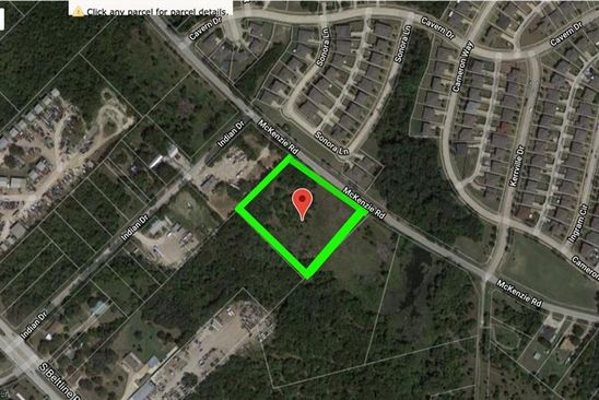 null bed null bath Vacant Land at 2503 McKenzie Rd Balch Springs, TX, 75181 is for sale at 175k - google static map