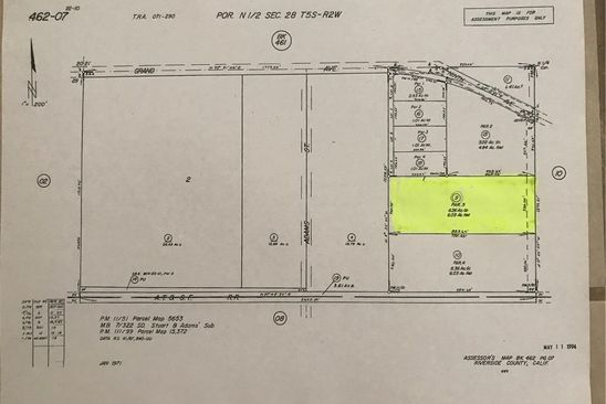 null bed null bath Vacant Land at 32475 9TH ST WINCHESTER, CA, 92596 is for sale at 350k - google static map