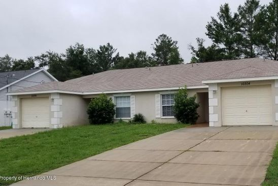 2 bed 2 bath Multi Family at 10304 Hemlock St Spring Hill, FL, 34608 is for sale at 225k - google static map