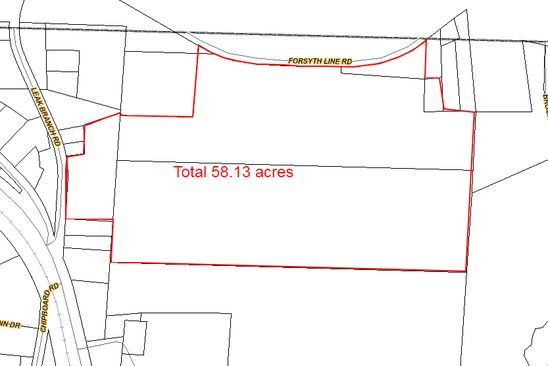 null bed null bath Vacant Land at  Forsyth Line Rd Rural Hall, NC, 27045 is for sale at 305k - google static map