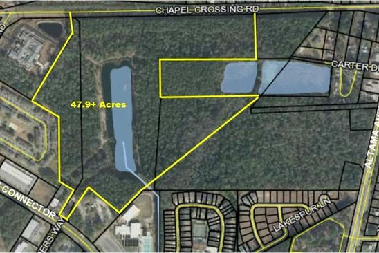 null bed null bath Vacant Land at 510 & 590 Chapel Crossing Rd Brunswick, GA, 31525 is for sale at 2.58m - google static map