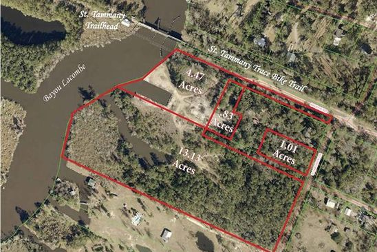 null bed null bath Vacant Land at  Balehi Rd Lacombe, LA, 70448 is for sale at 900k - google static map