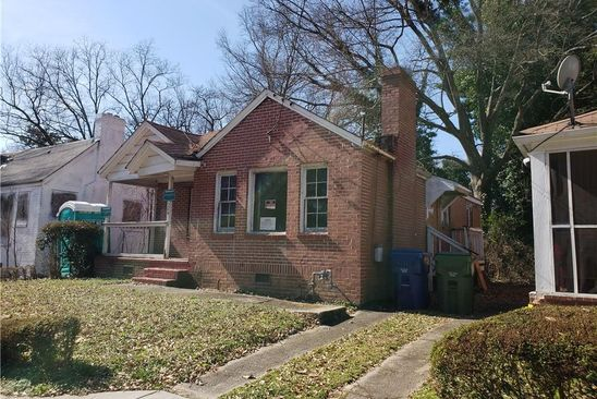 2 bed 1 bath Single Family at 524 Paines Ave NW Atlanta, GA, 30318 is for sale at 75k - google static map
