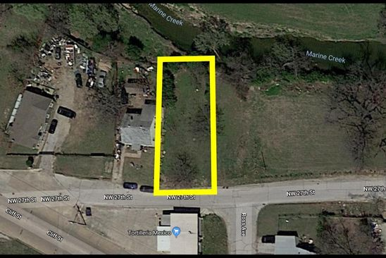 null bed null bath Vacant Land at 502 NW 27TH ST FORT WORTH, TX, 76164 is for sale at 30k - google static map