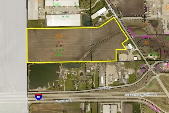 null bed null bath Vacant Land at 0000 E 103rd Road A/K/A Plank Rd Peru, IL, 61354 is for sale at 1.17m - google static map