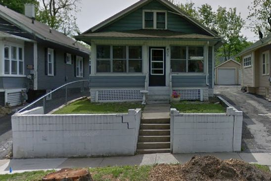 2 bed 1 bath Single Family at 420 South Broadway Aurora, IL, 60505 is for sale at 60k - google static map