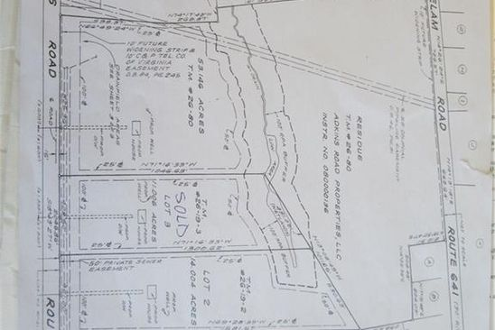 null bed null bath Vacant Land at 001 Adkins Rd Charles City Co., VA, 23030 is for sale at 70k - google static map