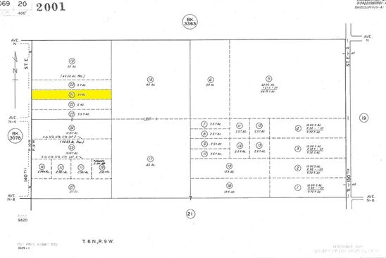 null bed null bath Vacant Land at 0 Vac/140 Ste/Vic Ave null, CA, 93591 is for sale at 12k - google static map